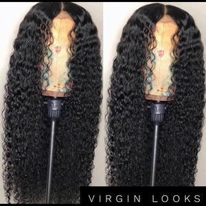 Virgin looks lace front wig